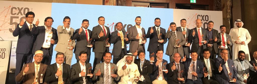CXO50 Award Winners 2020